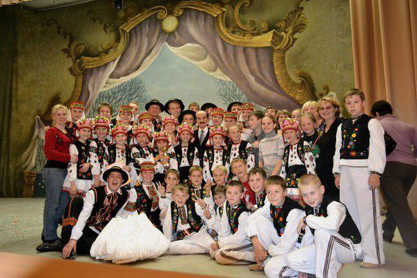 Зразковий ансамбль народного танцю «Веселі гуцулята» відзначає 35