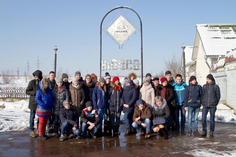 8665d42445d У вівторок, 6 лютого, з екскурсією на підприємстві побувала група учнів  Калуської спеціальної загальноосвітньої школи для дітей зі зниженим слухом  та НВК « ...