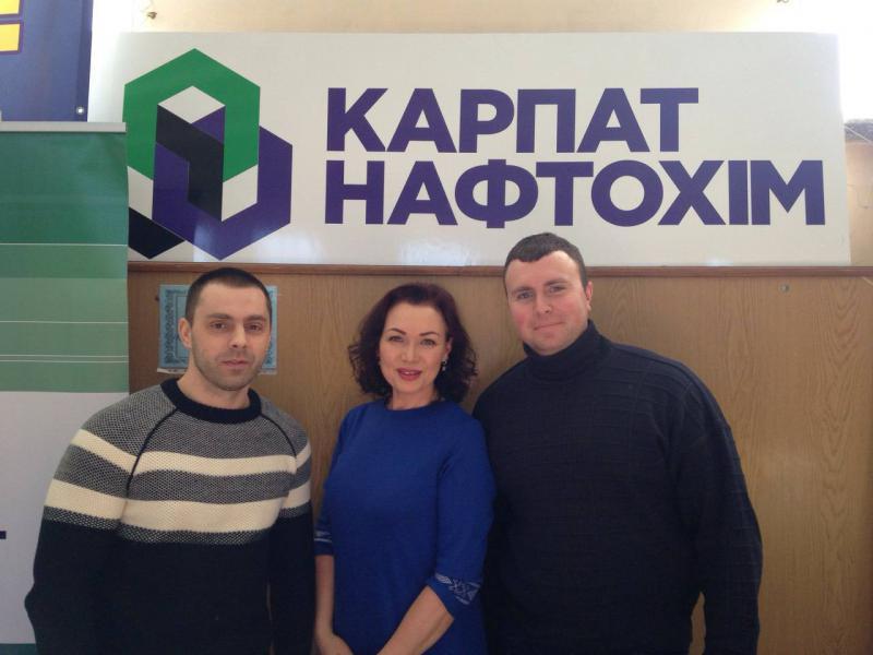 Спеціалісти «КАРПАТНАФТОХІМу» взяли участь у Дні кар'єри в Тернополі
